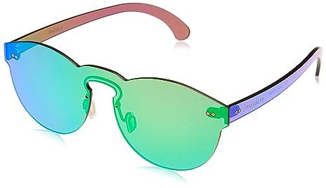 Paloalto Sunglasses p25.5 Gafas de Sol Unisex, Oro: Amazon ...