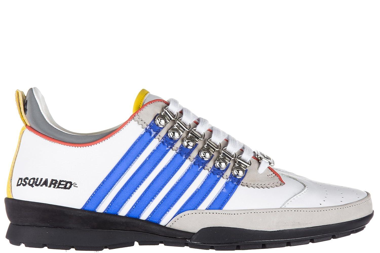 DSQUARED2 メンズ scarpe sneakers uomo in pelle nuove 251 vitello B07BWHHDD9