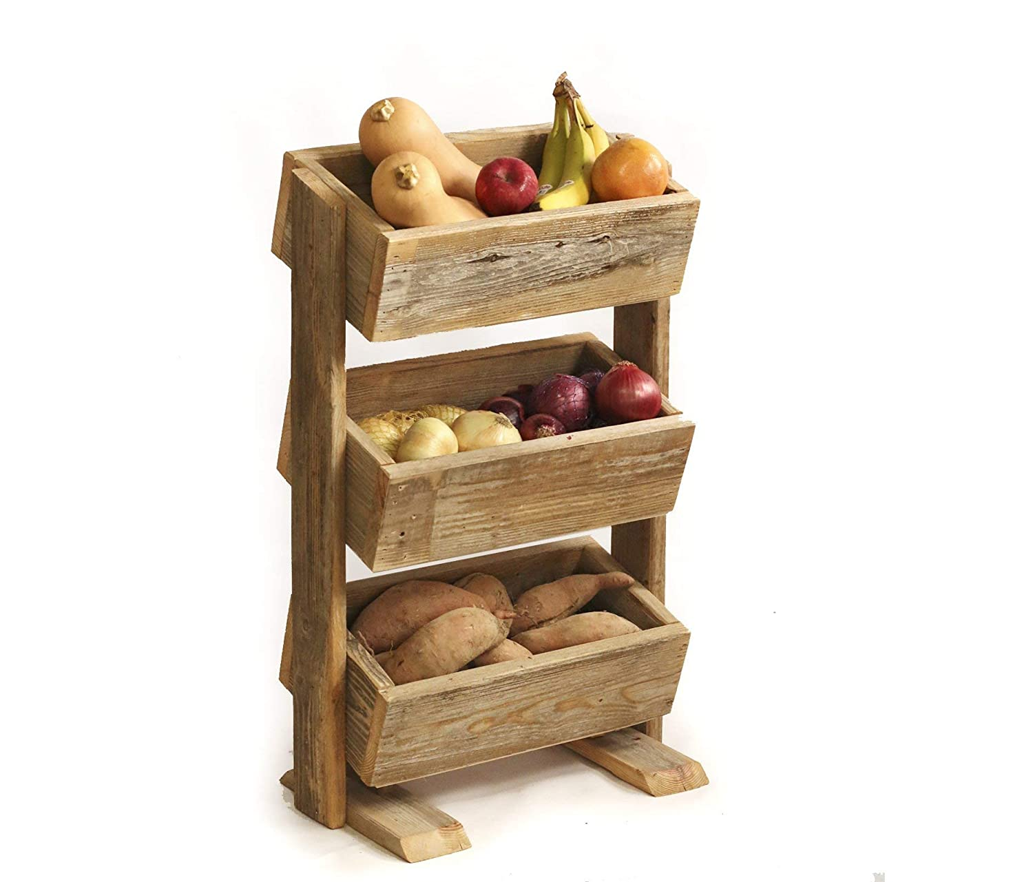 handmade wood decor fruit and veggie holder woodworking home Amazon.com