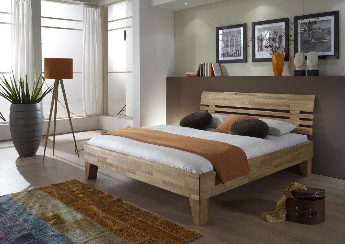 Dreams4home Massivholzbett Toulouse Massivholzbett Bett