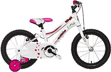 Wolfbike AVI-16 NIÑA Blanco T8 Bicicleta, Adultos Unisex, 8 ...