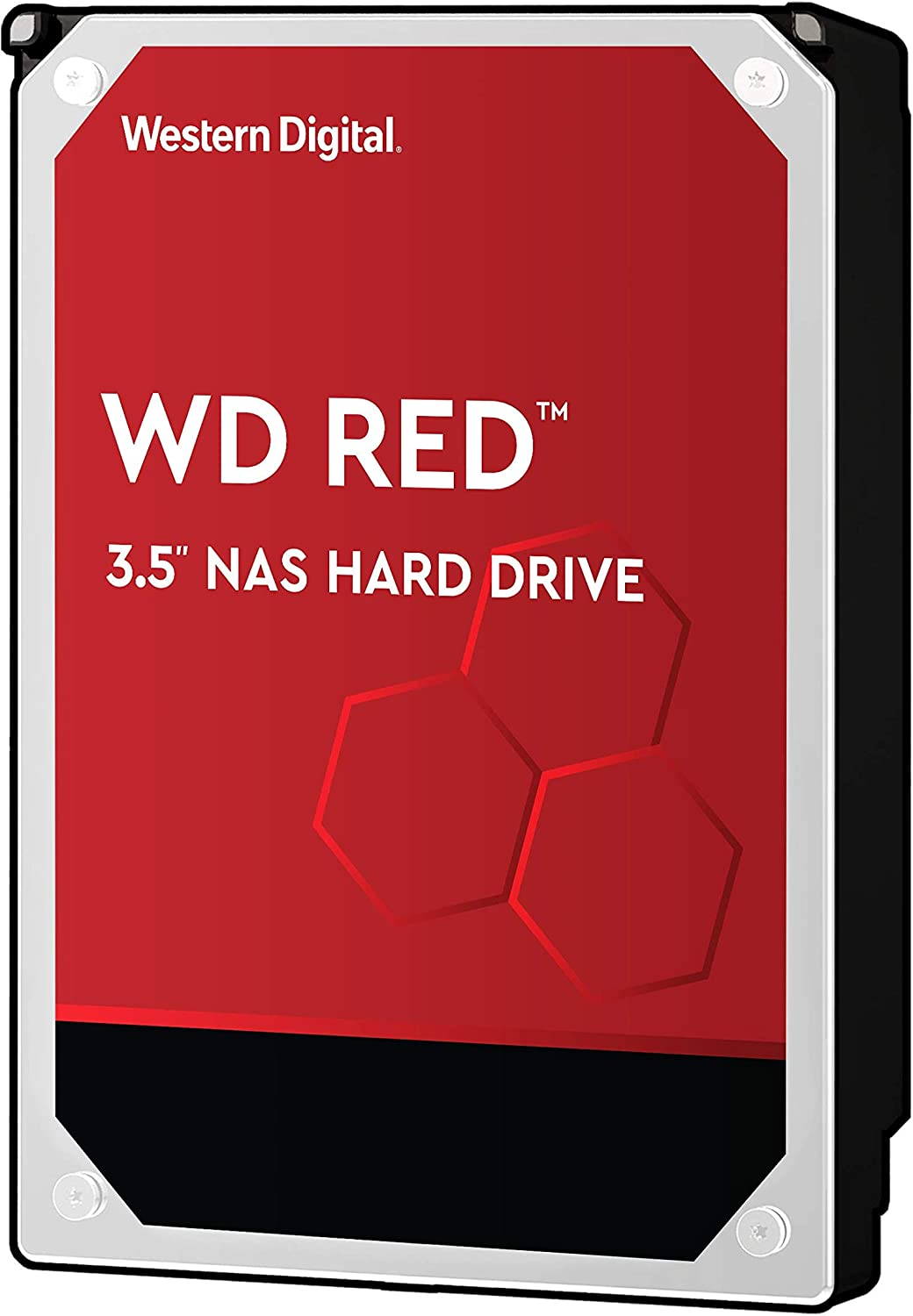 "WD Red 6TB NAS Hard Drive - 5400 RPM Class, SATA 6 GB/S, 256MB Cache, 3.5"" - WD60EFAX"