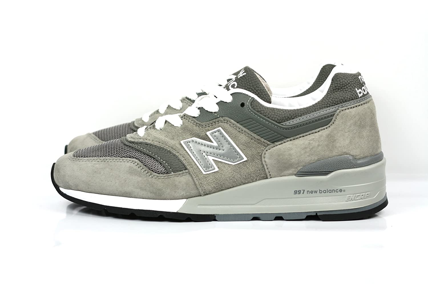 online store f8594 ad15b New Balance 997 Men's Sneakers Made in USA Grey/White M997gy