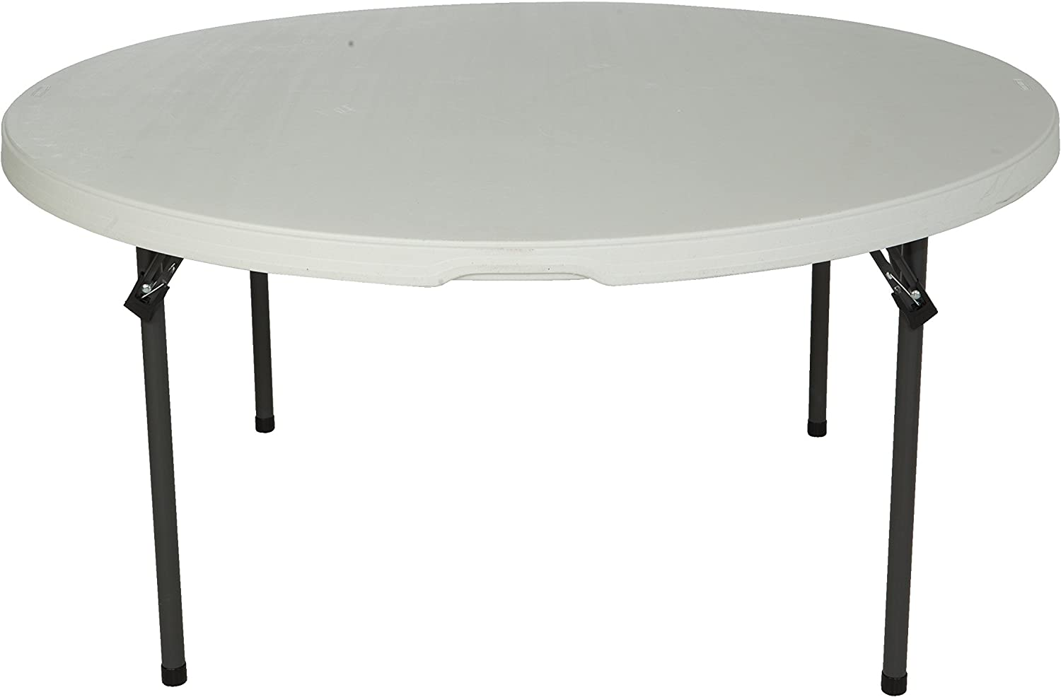 - Amazon.com: Lifetime 280435 Commercial Round Folding Table, 5 Feet