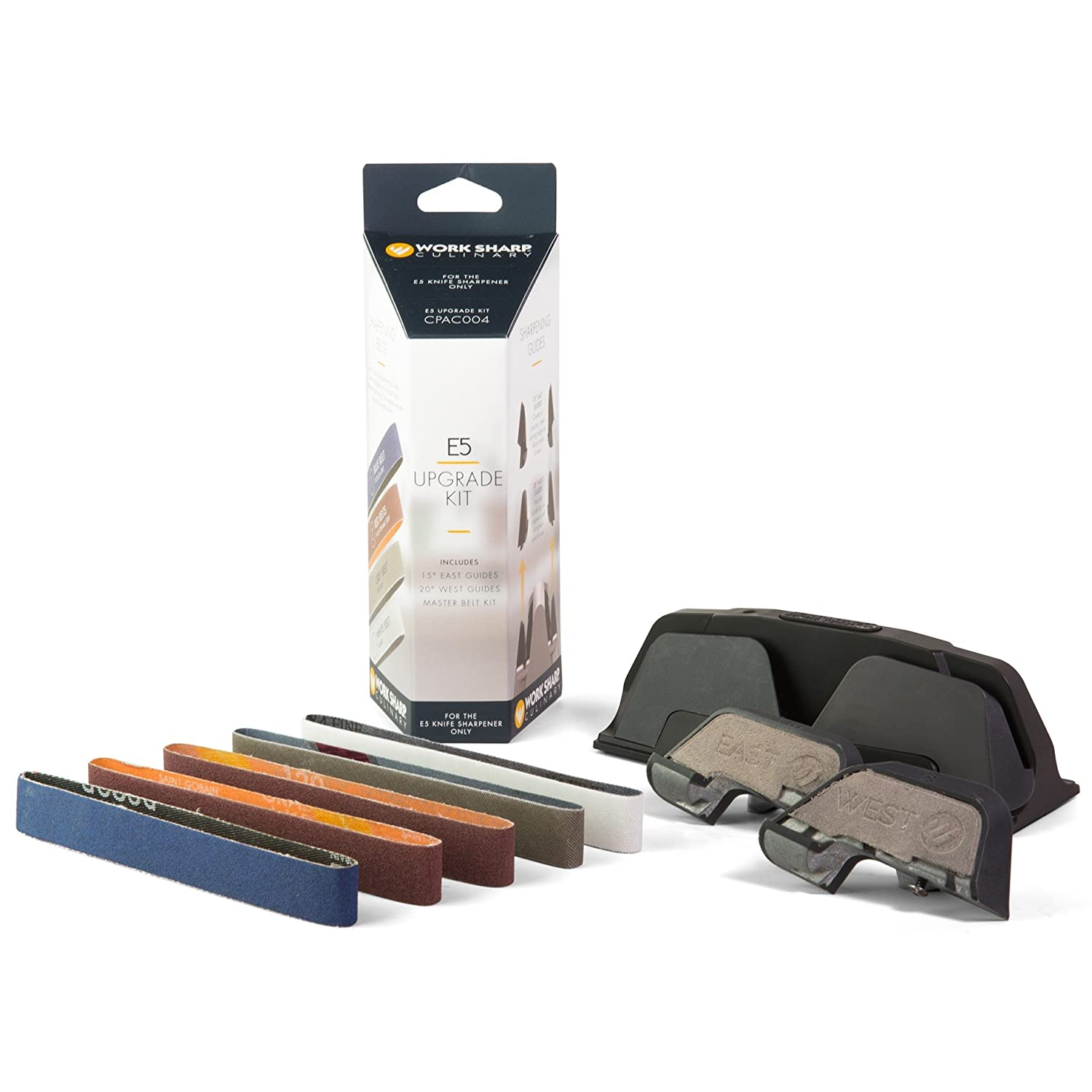 Work Sharp Culinary CPAC004 East and West Guides Upgrade Kit, Multicolor