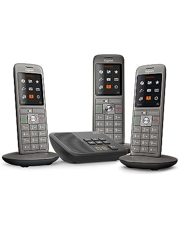 f435d18005439 Gigaset CL660A Trio - Téléphone fixe sans fil - Répondeur - 3 combinés -  Gris Anthracite