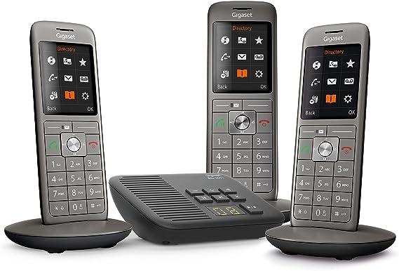 Gigaset CL660A Trio - Teléfono fijo inalámbrico: Amazon.es: Electrónica