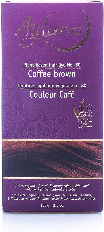 ayluna ? planta color del pelo nº 80 Café Marrón ? 100 g
