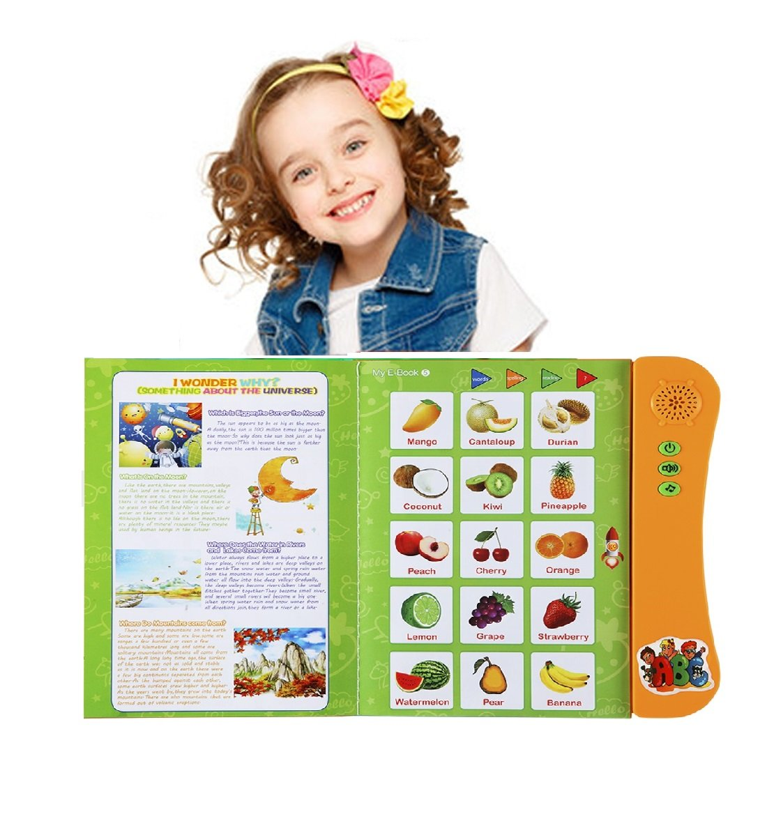 Yeezee ABC Letters Learning For Toddlers, Kid