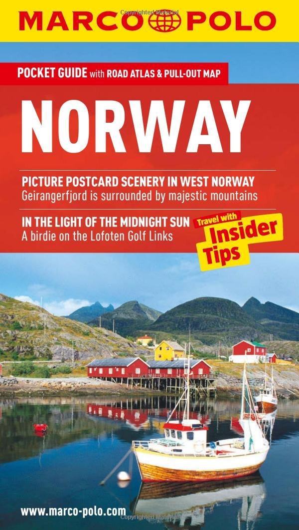 Norway Marco Polo Guide Marco Polo Guides Marco Polo Travel - Michelin norway map 752