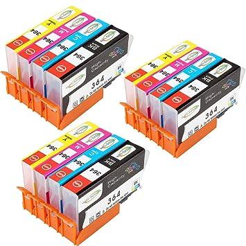 Win-TinTen Sustitución de piezas para HP 364XL 364XL Cartucho de ...