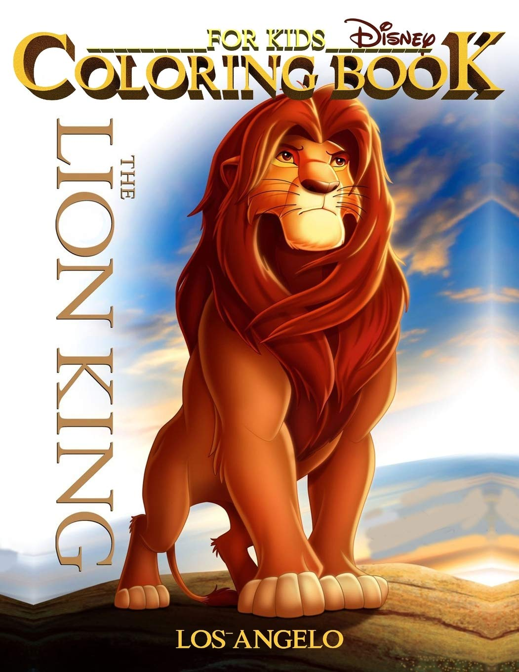 - Lion King Coloring Book For Kids: Lion King Coloring Book High