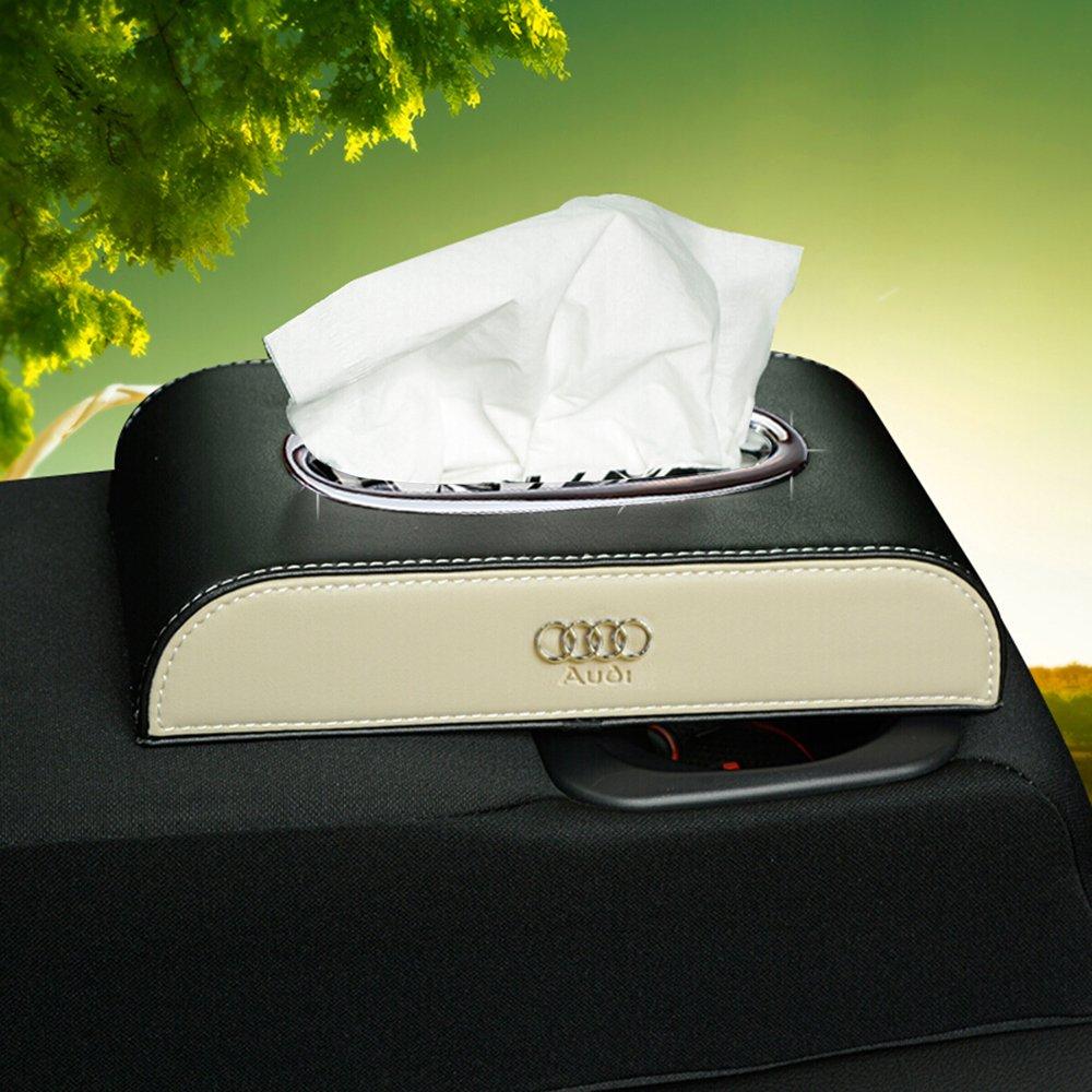 buy-buy-buy Portafazzoletti del tessuto box supporto Audi logo