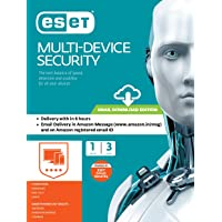ESET Multi-Device Security - 1 Device, 3 Years (Email Delivery in 2 Hours- No CD)