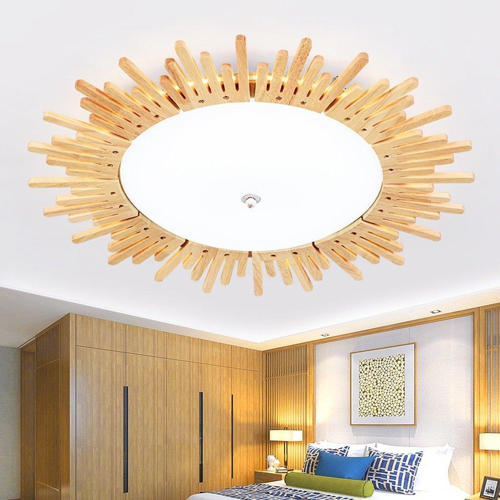Ywyun Japanische Sonnenblumen Holzdecke, die moderne Hauptdekoration ...
