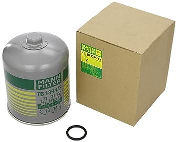 Mann Filter TB 1394/3 x Cartucho del Secador de Aire, Sistema de Aire Comprimido: Amazon.es: Coche y moto