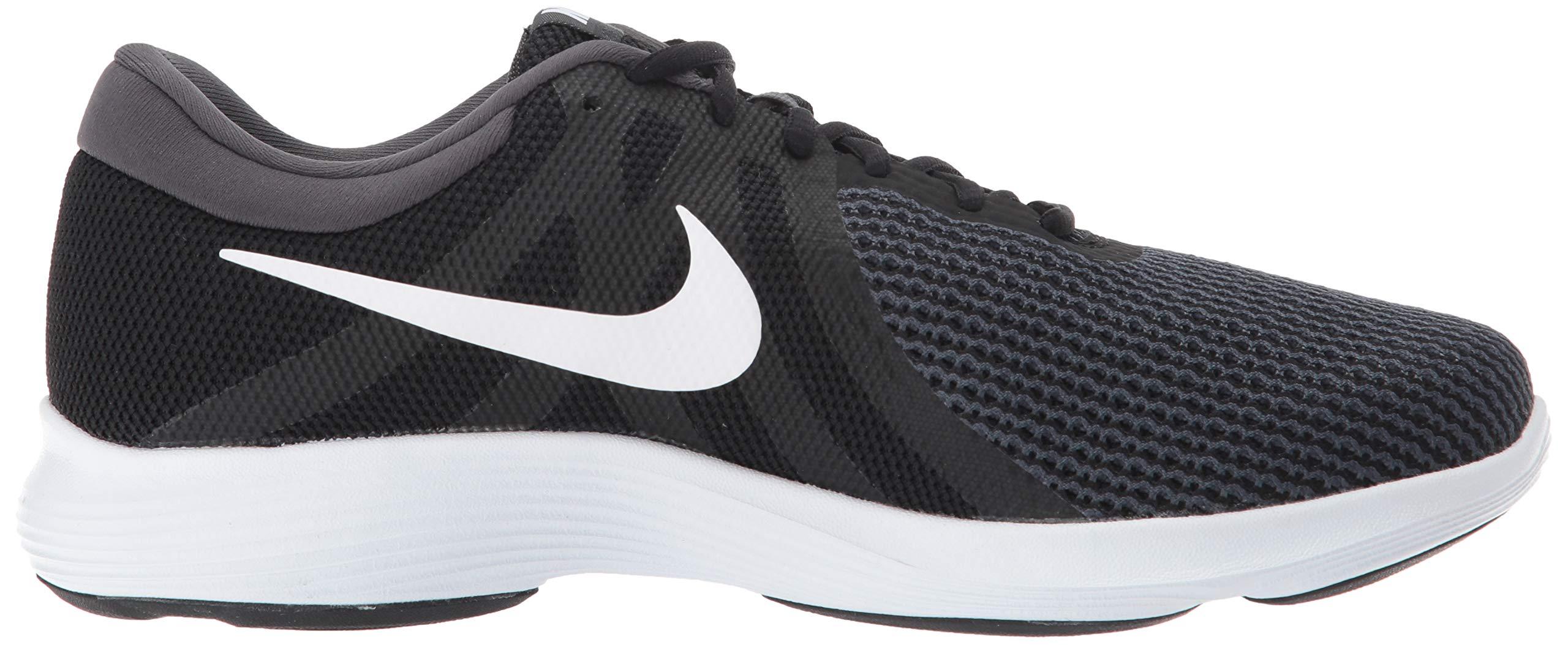 Nike Men's Revolution 4 Running Shoe Black/White - Anthracite 6.5 Wide US by Nike (Image #7)