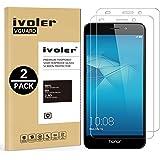 iVoler [2 Pack] Pellicola Vetro Temperato Huawei Honor 5c [Garanzia a Vita], Pellicola Protettiva Protezione per Schermo per Huawei Honor 5c
