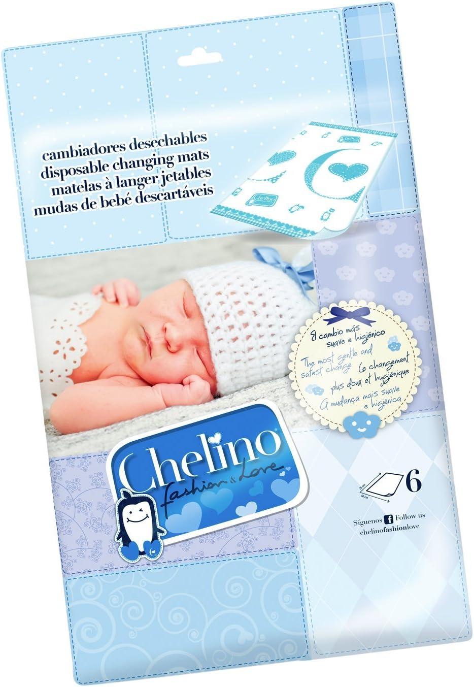 Chelino Fashion & Love Cambiador Infantil, Protector Cama - 6 Cambiadores: Amazon.es: Bebé