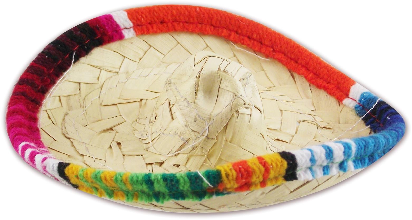 Mini Fiesta Sombrero - 5'' Hair-Clip Hat, 6-Pack by MoreFiesta