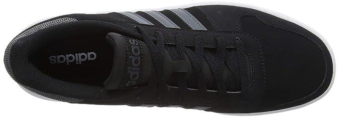 adidas Hoops 2.0, Scarpe da Basket Uomo, Nero Core Black
