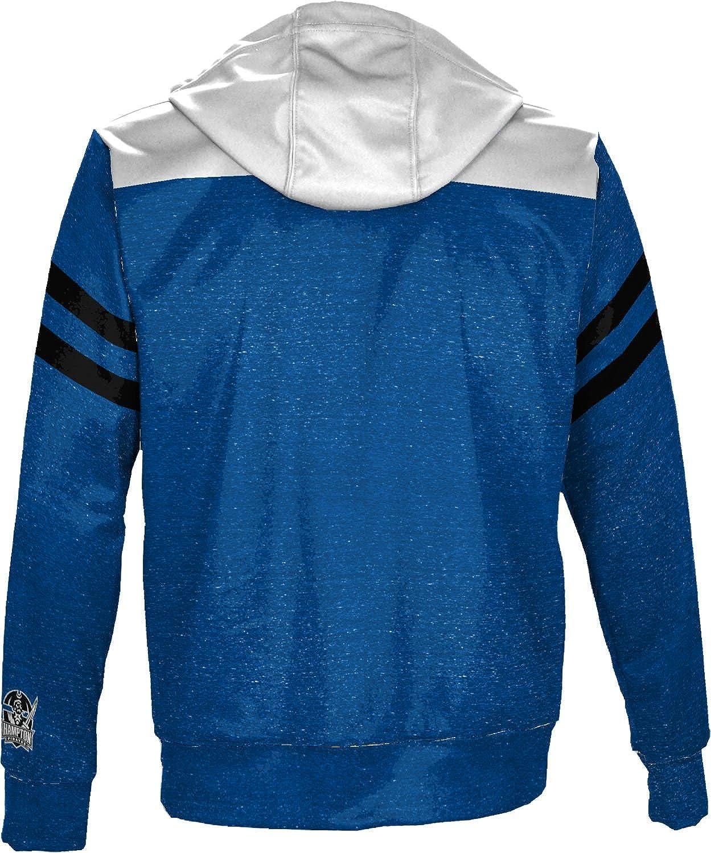School Spirit Sweatshirt Game Time Hampton University Mens Pullover Hoodie