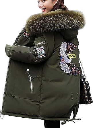 MAGIMODAC Winter Jacke Mantel Daunenmantel Daunenjacke