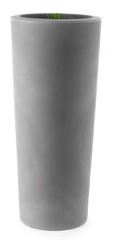 Kunststoff-Pflanztopf Schio rund 45 cm x 110 cm hoch