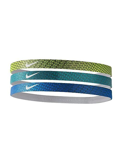 Nike Printed Fasce per Capelli Confezione da 3  Amazon.it  Sport e ... 7441eb1a8197