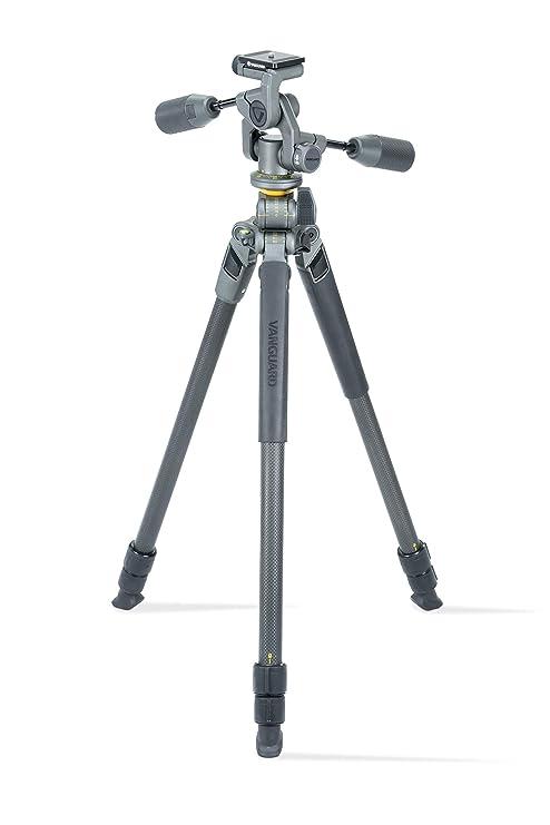 Multi-Angle Center Column for Sony Nikon Canon DSLR Cameras Vanguard Alta Pro 2+ 264CT Carbon Fiber Tripod