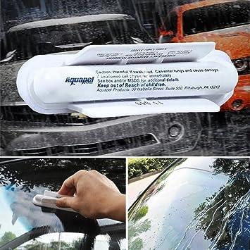 Sedeta Vehículo limpiaparabrisas herramientas Tratamiento de ventanas de cristal Repelente de lluvia de agua Repelente de aplicación de agua Plumero de ...