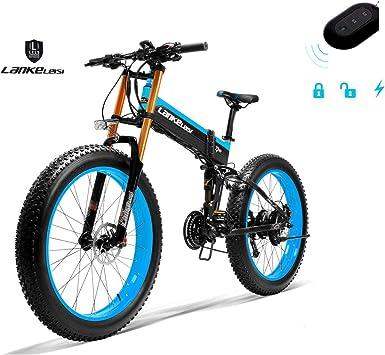 LANKELEISI 750PLUS 48 V, 14,5 Ah, 1000 W, bicicleta eléctrica ...