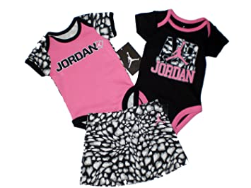 376d90779be Image Unavailable. Image not available for. Color: Nike Air Jordan Baby  Girl Bodysuit ...