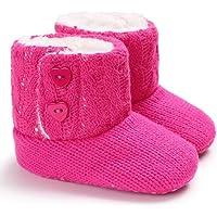 Baby Girl Boy Snow Boots, Winter Booties Anti-Slip Infant Toddler Newborn Crib Shoes