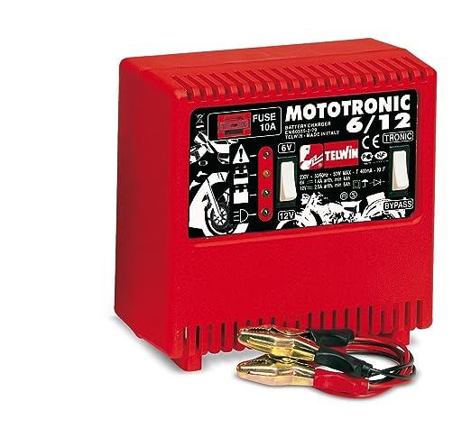 Telwin-Cargador de batería para motos MOTOTRONIC v 6/12 ...