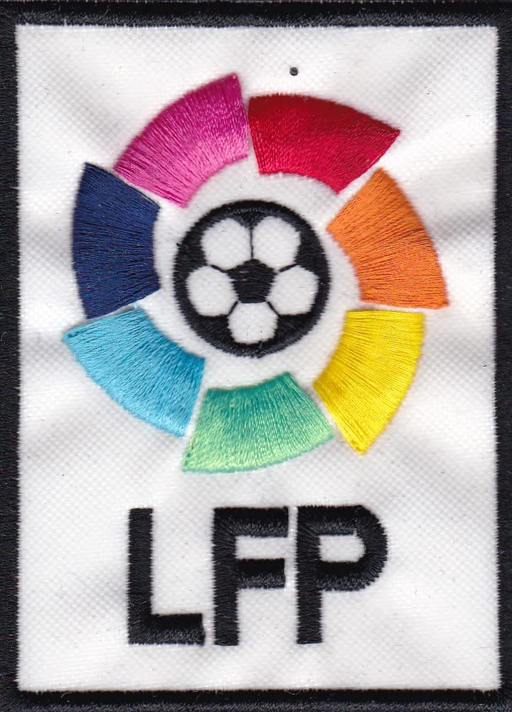 Patch Liga Futbol Profesional España cm 6 x 8,5 parche bordado ...