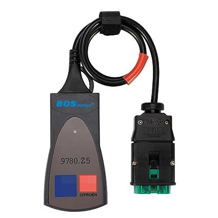 BOSmutus PP2000 OBD2 Scanner, PP2000 Lexia 3 V48 V25 Diagbox 7.83 ...