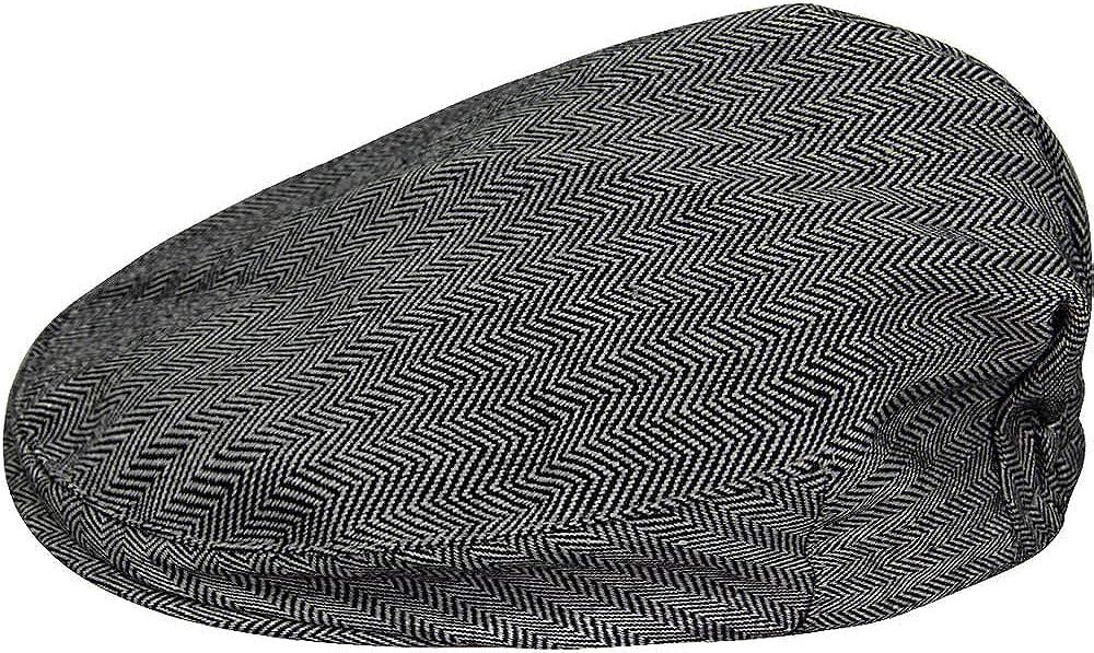 MOMBEBE COSLAND Kids Boys Formal Hat Flat Scally Cap