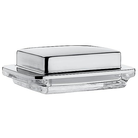 2 opinioni per WMF Kult- butter dishes (Glass, Stainless steel, Stainless steel, Stainless