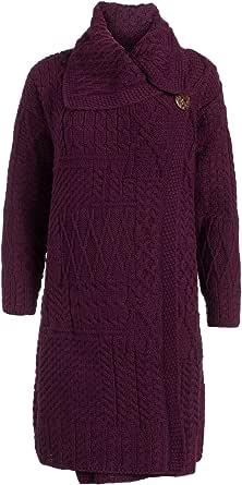 Boyne Valley Knitwear The Caitríona Merino Wool Long Cardigan Sweater