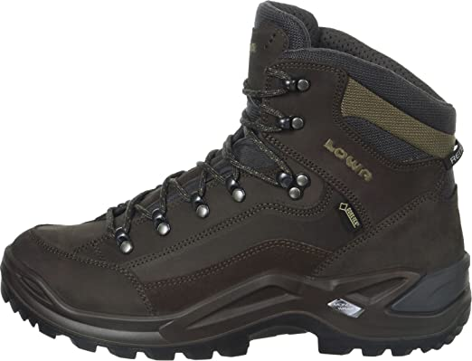 LOWA Renegade GTX Mid Outdoor Schuhe schiefer-oliv - 46,5