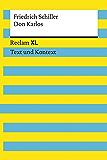 Don Karlos: Reclam XL – Text und Kontext