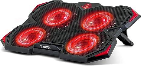 EMPIRE GAMING Storm Cooler – Base de refrigeración PC Gamer 12 a ...