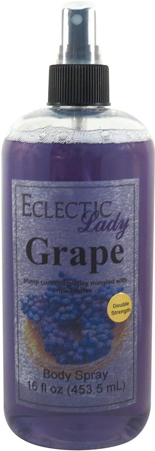 Grape Body Spray (Double Strength), 4 ounces Eclectic Lady