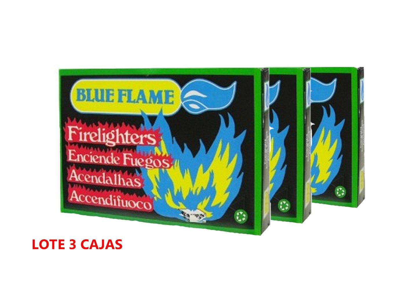 PASTILLAS DE ENCENDIDO BLUE FLAME PARA BARBACOA, CHIMENEAS, HORNOS, HOGUERAS, TABLETA PARA ENCENDER FUEGO, TABLETA BLANCA DE 96 CUBITOS.: Amazon.es: Jardín