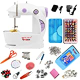 Reglox 4in1 Portable & Compact Electric Mini Sewing Machine With Sewing kit