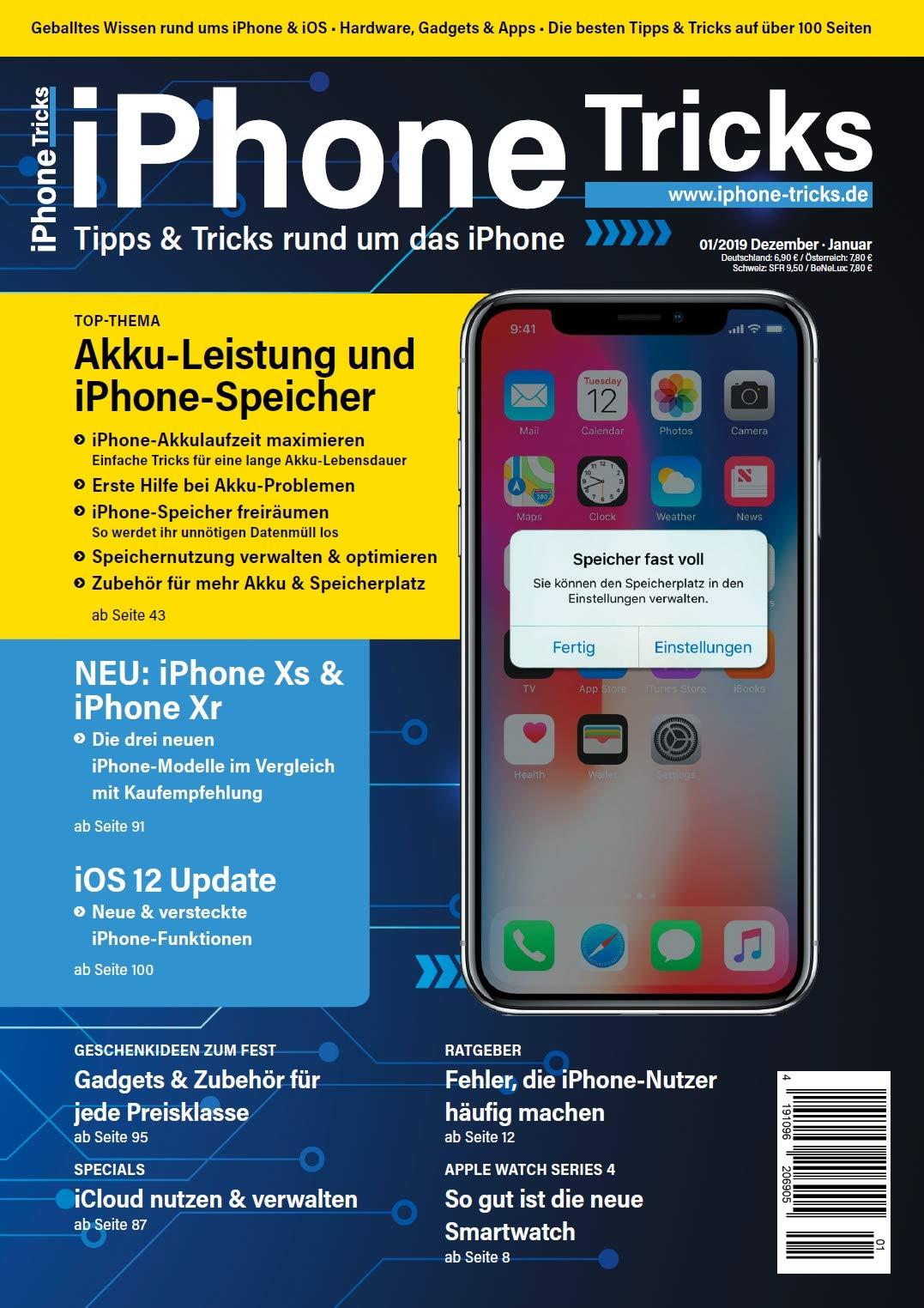 IPhone Tricks.de Magazin Ausgabe 1 2019   Das Fehlende IPhone Handbuch Mit Anleitungen Für Einsteiger Dummies Fortgeschrittene Und Senioren