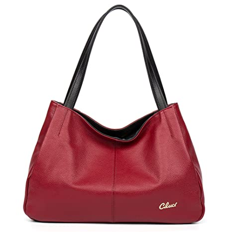 2a3a49593ec5 Buy CLUCI Leather Handbags Designer Tote Purse Satchel Shoulder Bag for Women  Online at Low Prices in India - Amazon.in
