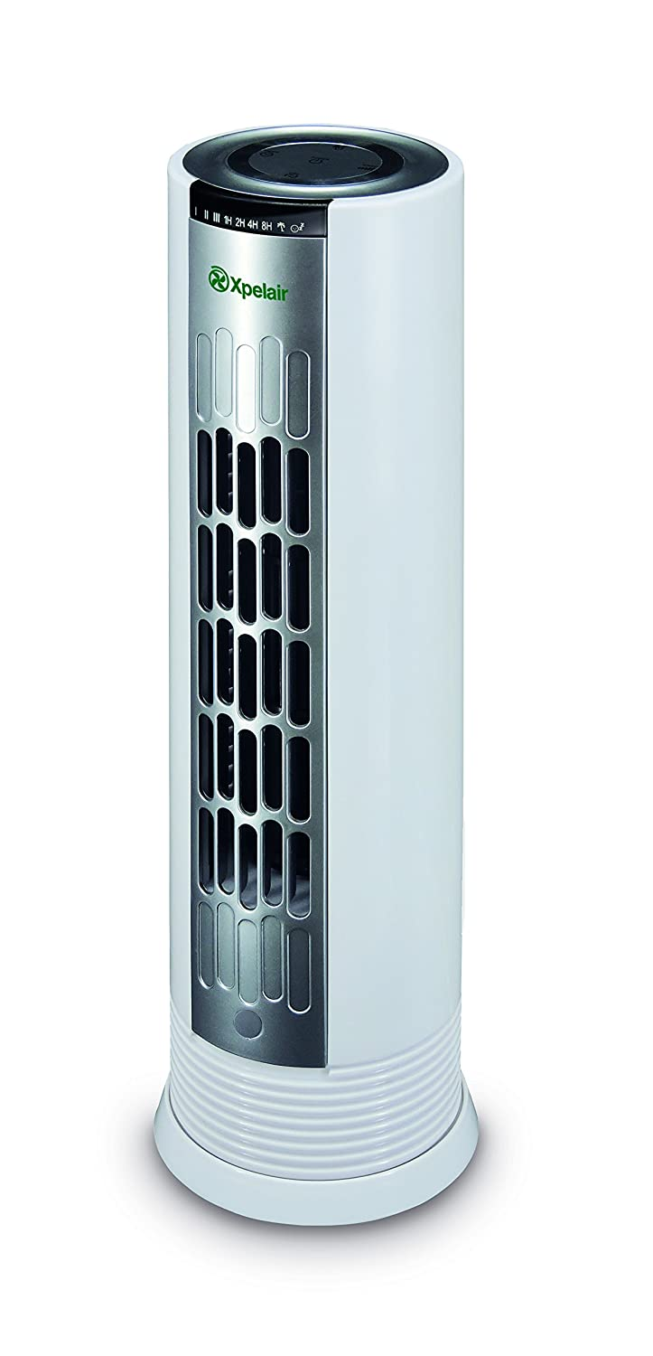 Xpelair XP15E Tower Desktop Cooling Fan, 20 W, White