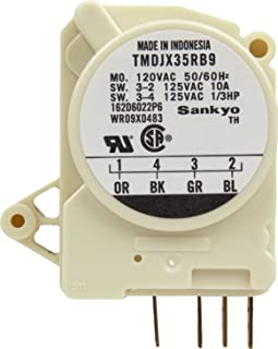 amazon com general electric wr50x60 defrost thermostat home whirlpool defrost timer wiring diagram general electric wr9x483 defrost timer
